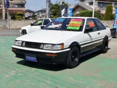 【売約済】カローラレビン 2Dr GT-APEX F車高調 LSD ワタナベ14AW F&Rタワーバー