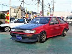 【売約済】レビン 3Dr GT-APEX 92後期Egハイカム 4スロ レイズTE37 車高調 LSD