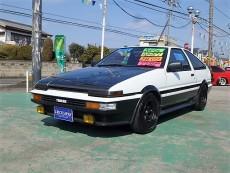 【売約済】スプリンタートレノ3Dr APEX 20バルブ銀ヘッド 車高調 レカロ LSD タコ足