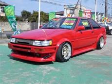 【売約済】レビン2Dr 後期 GT-APEX  マイスタS1 RUNFREEエアロ F車高調  LSD