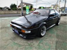 【売約済】レビン3Dr トレノ BLACK LIMITED仕様  セミレストア済  CR01 BRITZ車高調