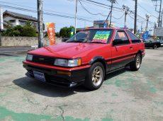 【売約済】レビン3Dr 後期 GT-APEX  2オーナー BRITZ前後車高調  ワタナベ14