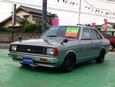 【売約済】サニ-4Dr GL A14Eg公認 SOLEX 車高調 タコ足 マフラー