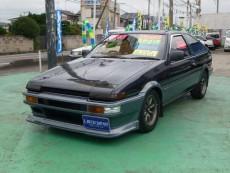 【売約済】スプリンタートレノ3DR GT-APEX 20バルブ黒ヘッド 車高調 レカロ LSD タコ足
