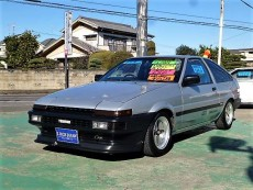 【売約済】トレノ3Dr前期GTV Greddy前後車高調 LSD BRIDEセミバケ2脚