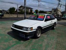 【売約済】カローラレビン2Dr GT‐APEX 20V黒ヘッドEg 車高調 LSD