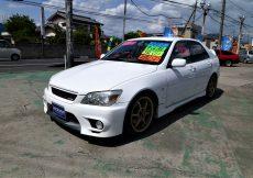 【売約済】アルテッツァ RS200Zエディション 車高調 LSD タコ足  外マフラー