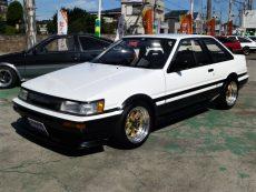 【売約済み】カローラレビン2Dr 後期 GT-APEX  O.SピストンEg F車高調 LSD