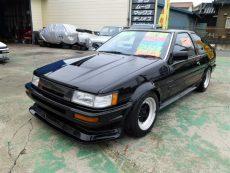 【売約済み】レビン3Dr 後期 GTV  グッドラインエアロ  SSR14インチ F車高調   LSD