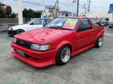 【売約済み】レビン3Dr 後期 GT-APEX  92後期Eg フルエアロ F車高調   LSD スターシャーク