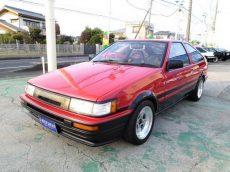 【売約済み】レビン3Dr 後期 GT-APEX  BRITZ車高調  SSR-MKⅡ14インチ タコ足